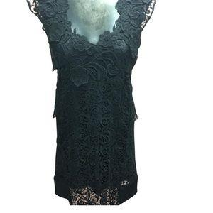 PRADA Crochet Flower Floret w/ Slip Dress